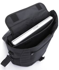 Laptop in Messenger Bag